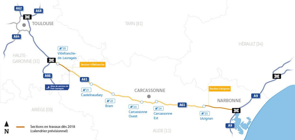 Suite au projet d'élargissement en 2X3 voies de l'autorouteA61, GEOFIT remporte deux appels d'offre de l'ASF. L'entreprise sera en charge des contrôles externes topographiques.