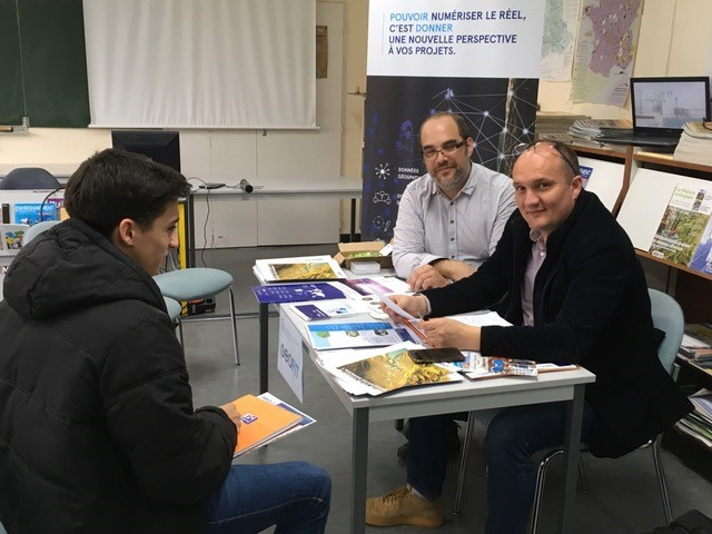 GEOFIT présent aux Rencontres du BTP de l'IUT de La Rochelle.