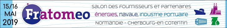 Les 15 et 16 mai prochains, GEOFIT sera présent au salon FRATOMEO qui se déroulera à Cherbourg.