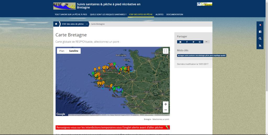 Le portail géographique en 2013