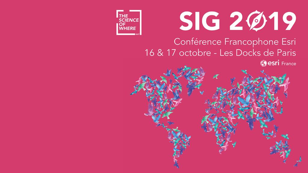 GEOFIT sera présent à la 23 ème édition de la Conférence Francophone Esri SIG 2019, les 16 et 17 octobre prochains.