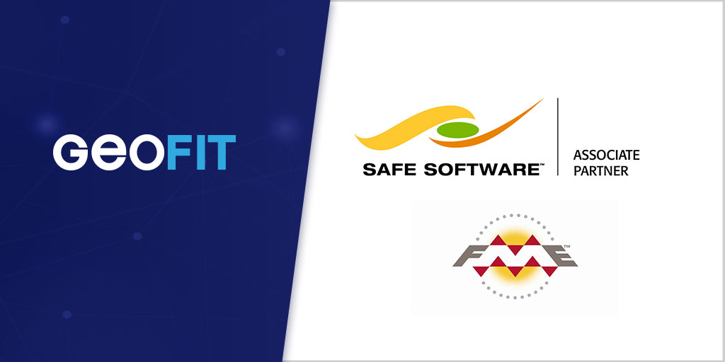 Geofit partenaire associate de safe software FME